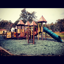 Forest Hills Park is one of the largest in Durham's system with a playground structure picnic shelter, outdoor pool and plenty of open space