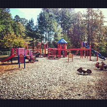 Twin Lakes Park holds a large and small picninc shelter, playground, and an competion size artifical turf field.