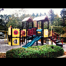 Edison Johnson Recreation Center has a fun playground and spray ground feature, as well as the aquatics facility and gym