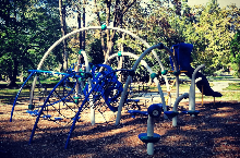 Larger play structure at Northgate Park for ages 5-12