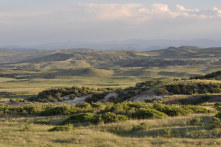 Having Soapstone Prairie and other open areas near town so we can enjoy unspoiled vistas. Houses or wells would spoil this view!