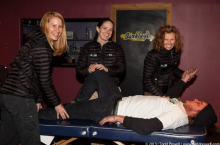 GEM - Supporting a Green, Healthy Community!  Envy Salon with Axis Sports Medicine at The Barkley Ballroom, April 9, 2013