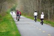 urban hike and bike trails