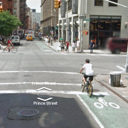We need clearly delineated bike paths