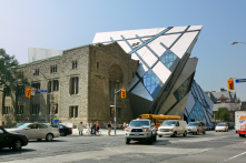 Merging the old and the new. This is the Royal Ontario Museum.