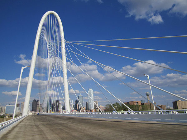 "Design inspired ""bridge type"" features to our gateways like in Addision or Calatrava bridge to our roads/overpass."