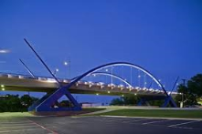 Features to our gateways like in Addision or Calatrava bridge to our roads/overpass