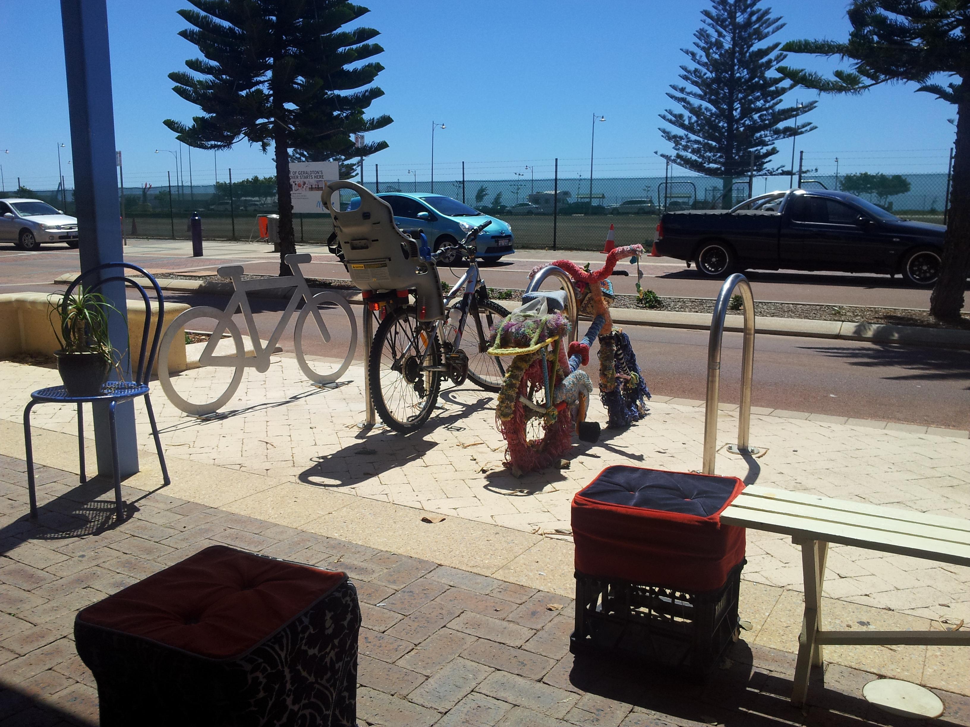 Improving Bike Rider and Pedestrian Safety