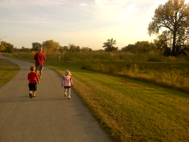 October stroll along the Greenway