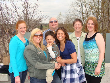 April 2011 last time we had the family all together at one time. Thankful for family.