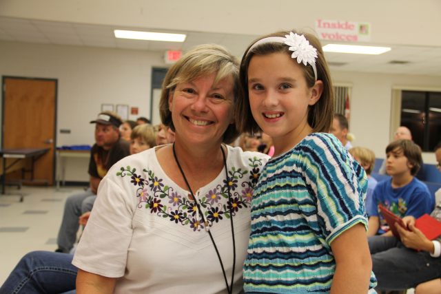 Mrs. Depaz you are an inspiration to all the students and staff at UES.