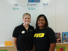 Mrs. Amerson and Ms. McClean- awesome 8th grade teachers at East Ridge Middle School!!