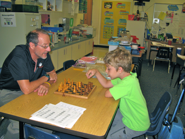 Thank You Mr. Mayer for teaching Chess to our boys.