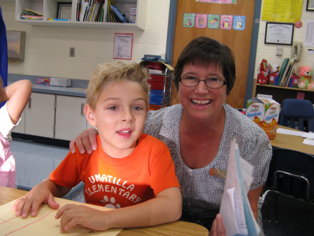 Mrs. Williams you are great.  Another UES teacher that has helped make our school rock.