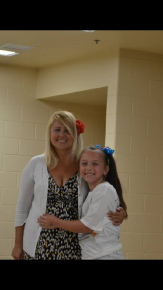 Mrs. Pundsack with one of the many students she inspires everyday. I think the smiles on their faces says it all.