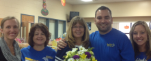 Mrs. Kathy Chestnut is Round Lake Elementary's Rookie Teacher of the Year!