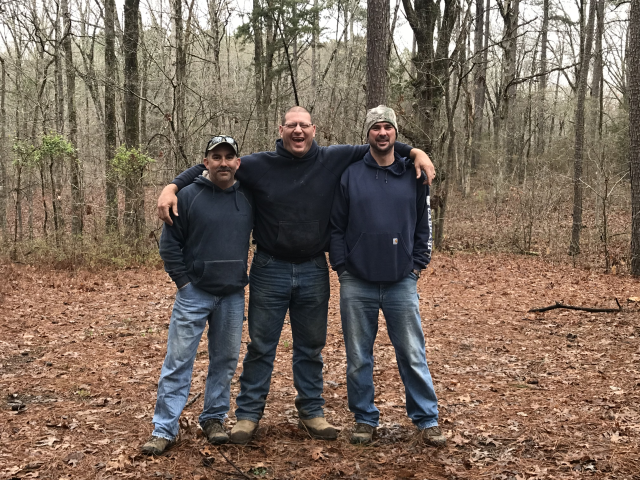 15 years of tradition with friends. Make this trip every year to bow hunt with friends.