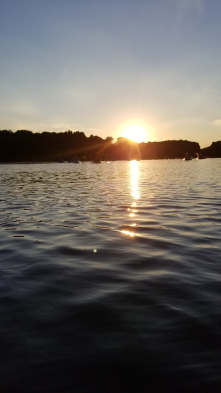 Sunset Kayak Trip on Honker Lake. One of the prettiest times to be on the water.