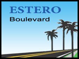 Estero Boulevard Improvements Project