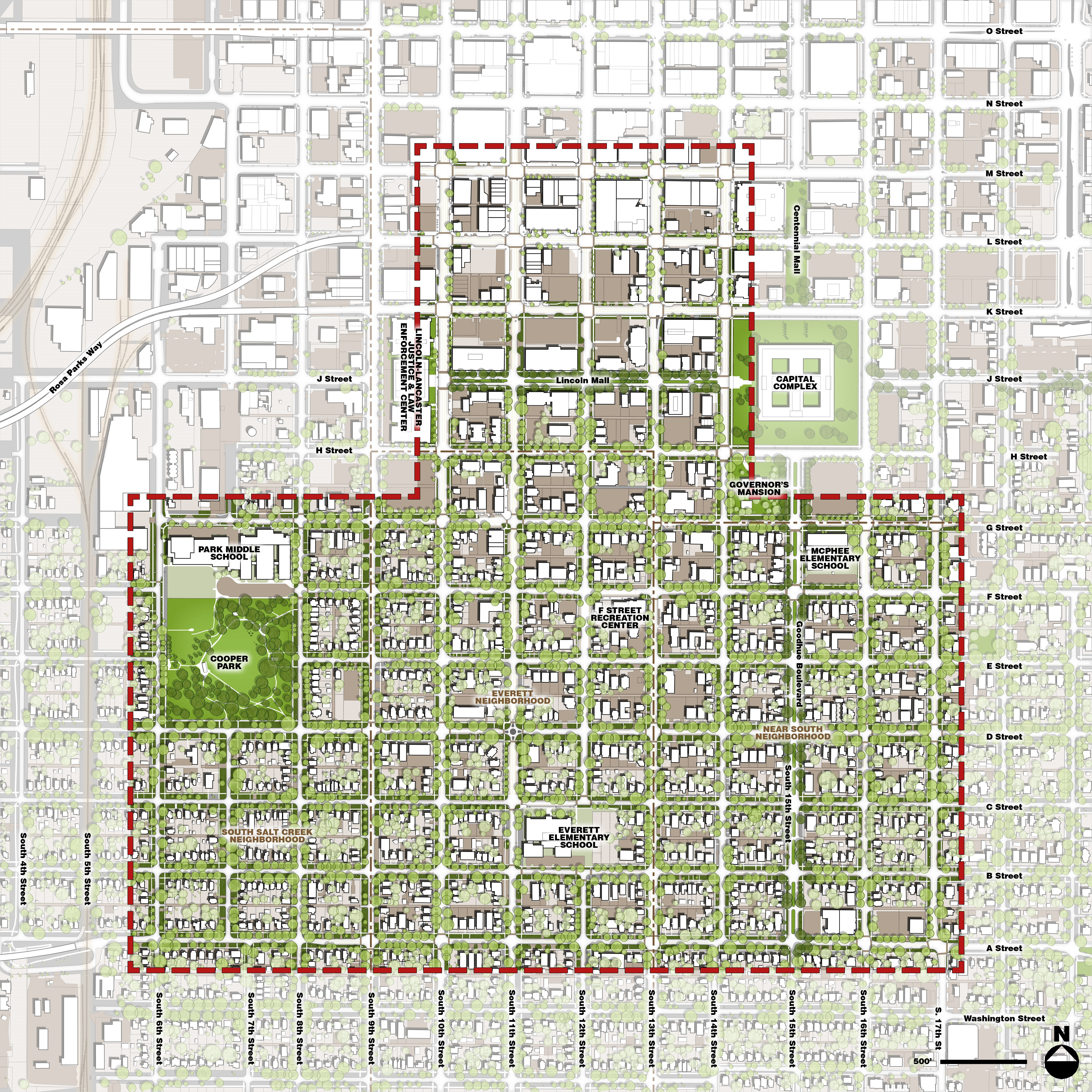 About This Site Lincoln South Downtown SoDo Revitalization Plan