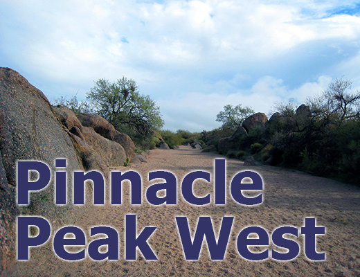 Pinnacle Peak West: Your flooding experiences