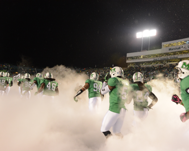 Bring on the Herd! We Are … Marshall!