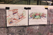 Nice drawing by someone to help the design team understand their vision for MI Avenue.