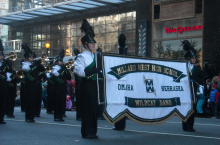 Millard West Wildcat Marching Band in the nationally televised Philadelphia Thanksgiving Day Parade! Way to go Wildcats!!!