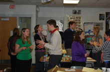 New Secondary Staff Participating in New Staff Orientation on January 2, 2013.  Getting ready for the students to come back!
