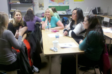 Elementary New Staff enjoying New Staff Orientation on January 2, 2013.  We are excited about the start of 2nd Semester!