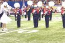 Millard South Band performing at the 2012 Alamo Bowl in San Antonio, Texas.