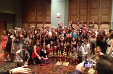 The Millard South Band was the Sweepstakes winner at the 2012 Alamo Bowl in San Antonio, Texas and performed their show in front of 65,000!
