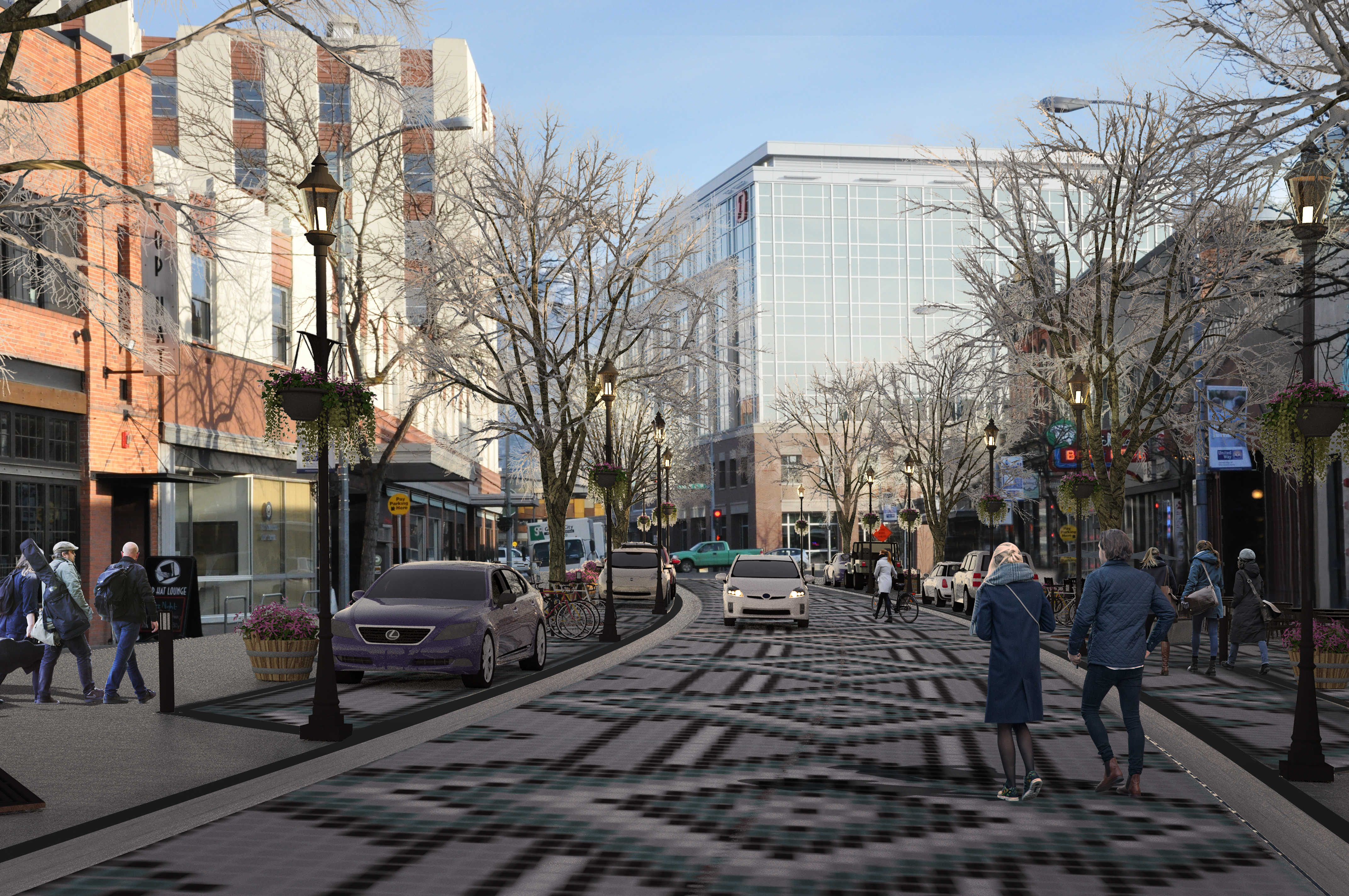 Introducing a Shared Street Concept