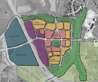 Create a Town Center in the North Park Key Investment Area