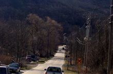 This photo shows Old Rudetown Road in Vernon.