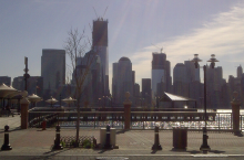 Exchange Place Waterfront in Jersey City