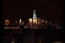 Pier A in Hoboken on a summer night for &quot;Movies Under the Stars&quot;