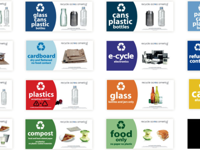 Improve Recycling: Implement Standardized, Informative Labels