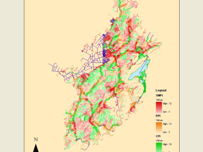 Watershed Managment Priority Indices