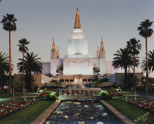 The beautiful Mormon Temple. Not only does it have awesome grounds, but the view of the Bay from here is breath-taking.