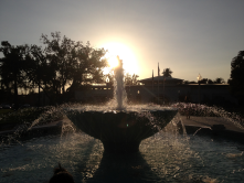 I've take hundreds of photos somehow involving the fountain. This is one of my favorites.