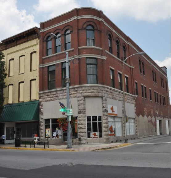 Retail, dining, hospitality at street level - residential living options upstairs.