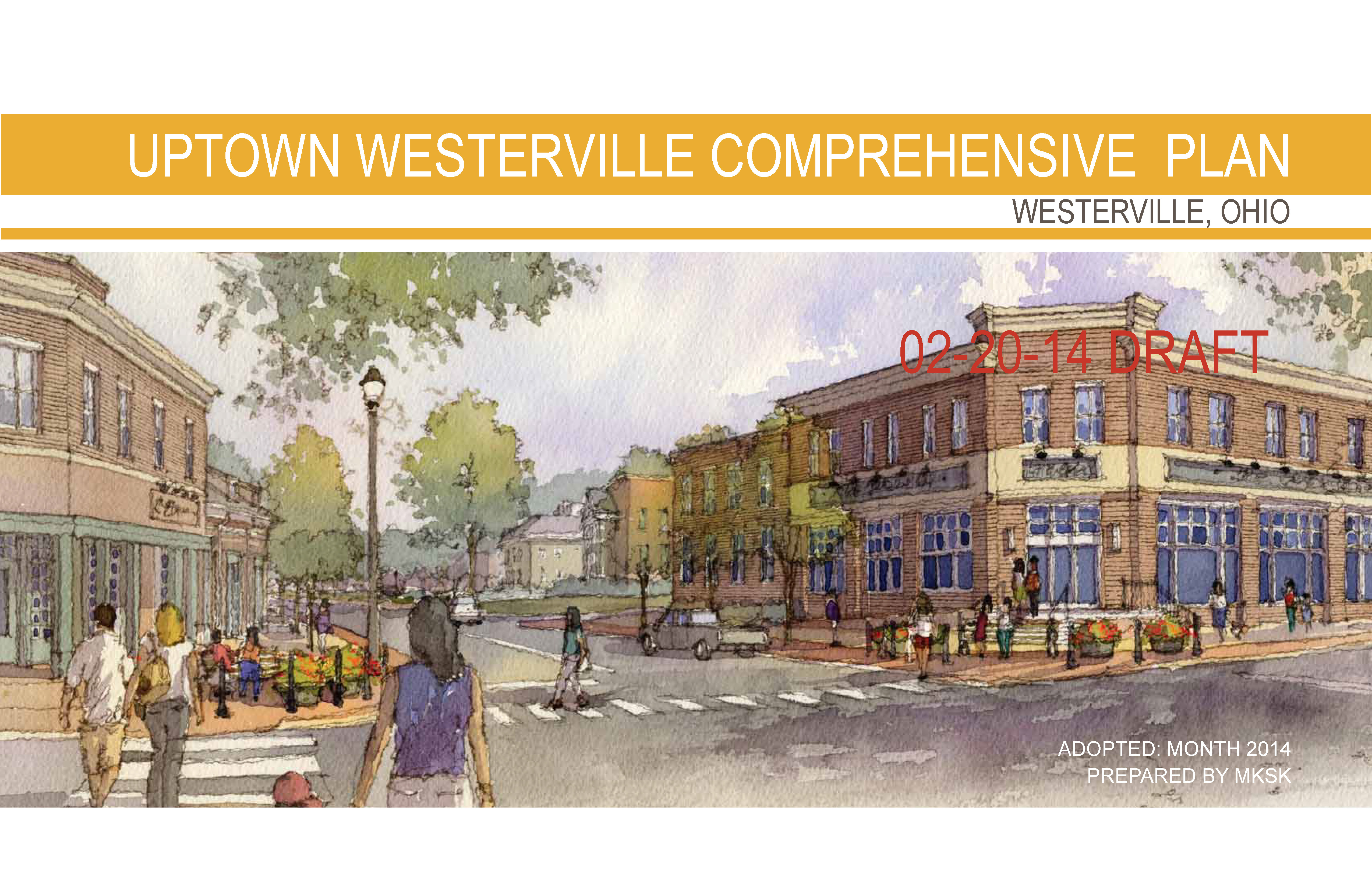 Uptown Westerville Comprehensive Plan - Draft