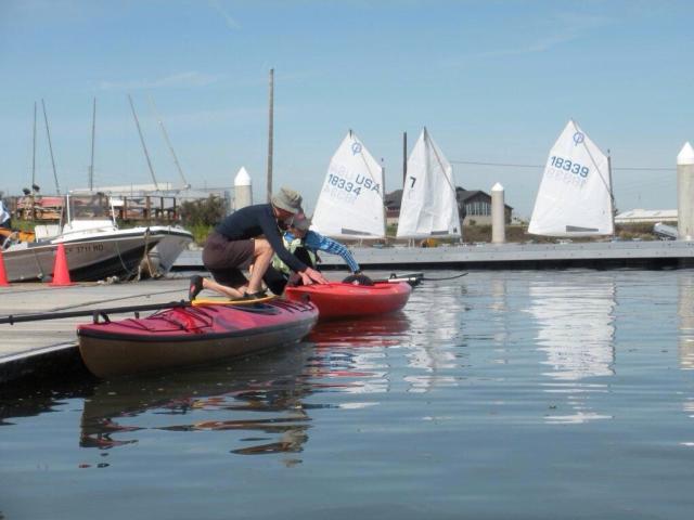 Kayaking in RWC
