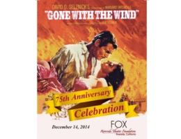 "Fox Theater Foundation marks ""Gone With the Wind"" 75th anniversary Dec. 14"
