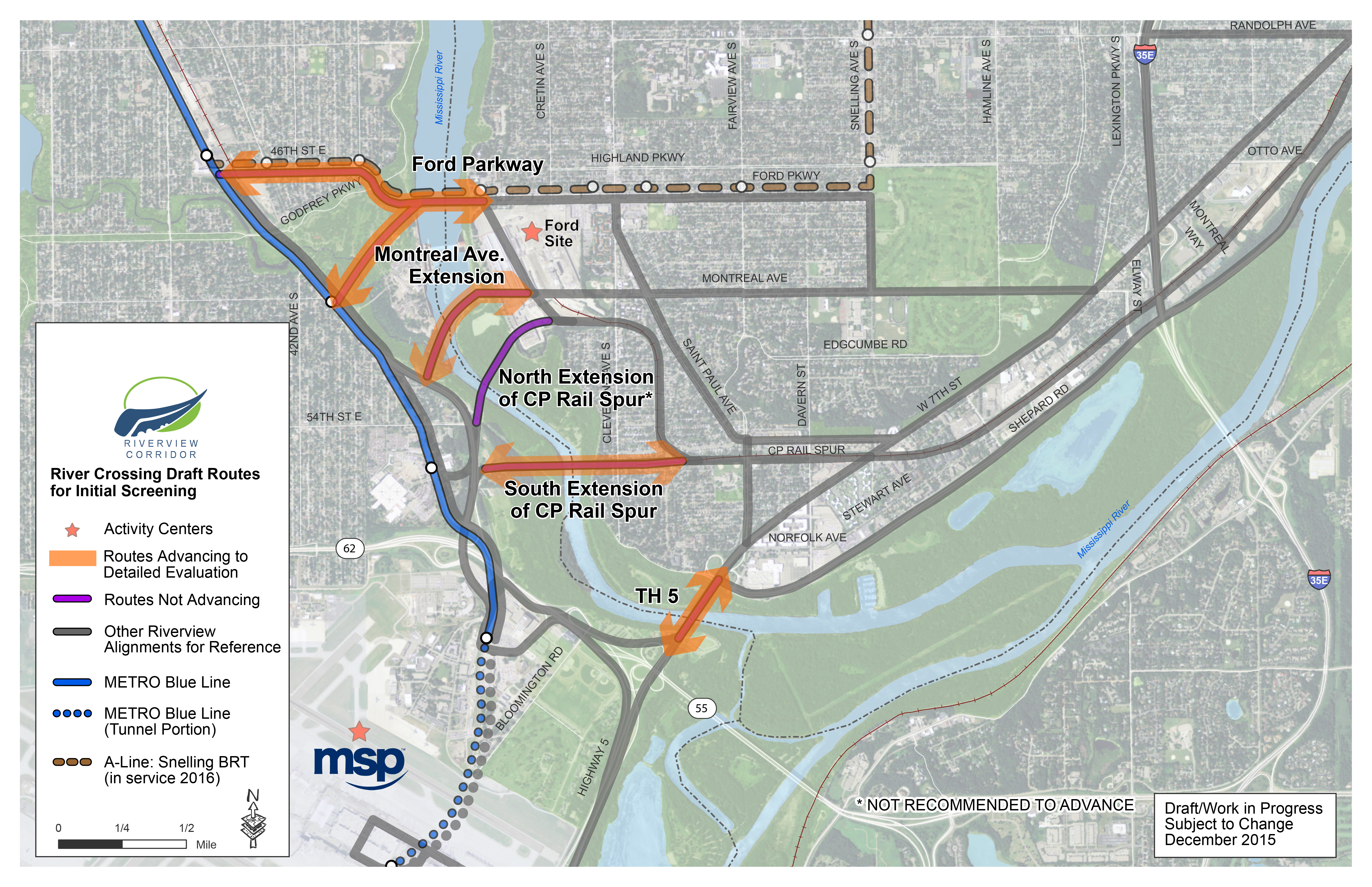 River Crossing Routes   Concerns