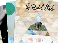 Four Issue Subscription to The Bold Italic Magazine