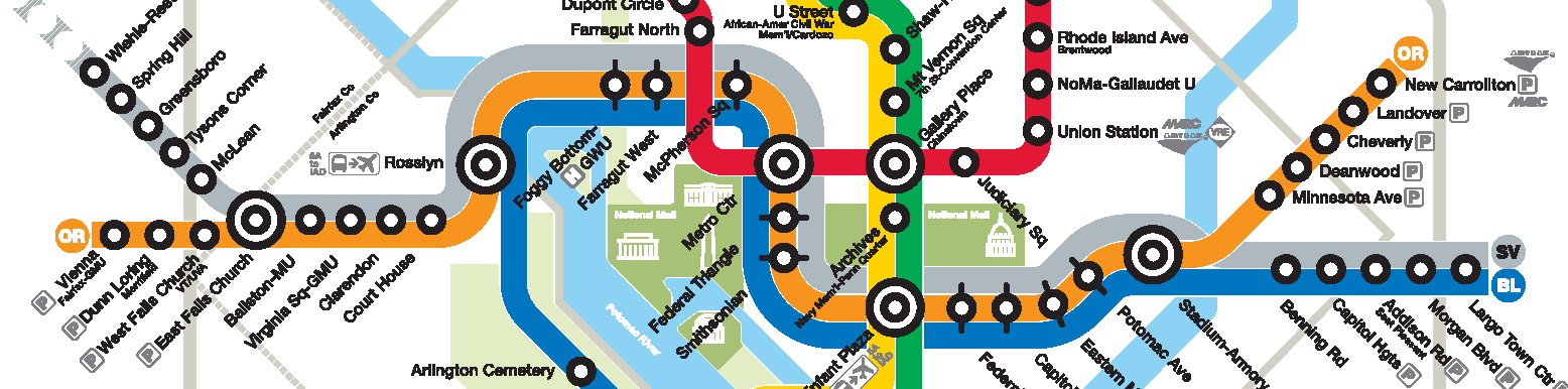 Updates to the Metrorail Map - Let Us Know What You Think
